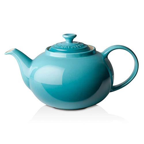 Le Creuset Steinzeug Klassische Teekanne, 1,3L, karibik