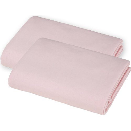 american-baby-company-2-pack-100-cotton-value-jersey-knit-fitted-pack-n-play-sheet-pink