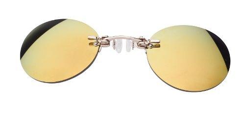 Nasenkneifer Sonnenbrille/Zwickel Art. 1002-7, gold