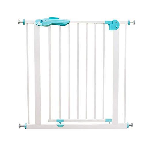 Barrière de sécurité Porte pour Animaux de Compagnie, protège-Mur réglable en métal Blanc, barrière pour bébé et Jardin de Jeu en métal, pour entrées de Porte d'escalier (Taille : Width 150-159cm)