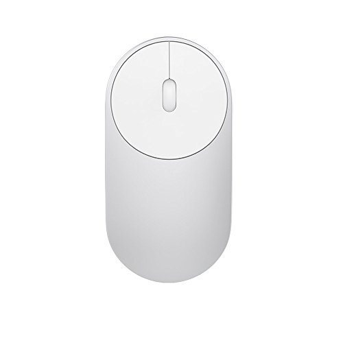 Xiaom - Mouse wireless portatile, da gioco, WiFi 2,4 GHz, Bluetooth 4.0, Control Connect, in lega di alluminio e ABS