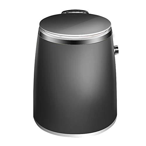 Lavatrice WLBH Mini Portatile Ultraleggera, Lavaggio E Disidratazione Semiautomatici con Cestello di Disidratazione, capacità di Lavaggio 1 kg, Potenza 260 W (Colore: Nero)