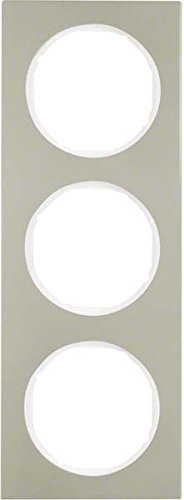 Hager 10132214 interruptor de luz Acero inoxidable - Interruptores de luz (Acero...