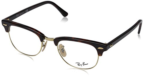 New Original RAY BAN Eyeglasses RX RB 5154 RB5154 2372 Brown Women Men 49mm