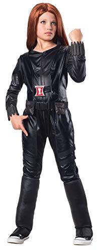 Schwarze Kostüm Witwe Deluxe - Kostüm Schwarze Witwe Captain America: Winter Soldier deluxe Mädchen