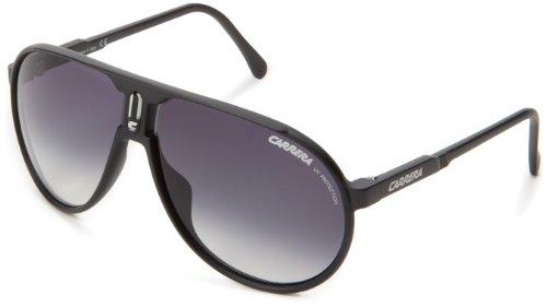 6c1aba0318 Carrera Champion L S Aviator Sunglasses Matte Black Frame Grey Gradient  Lens One Size