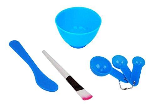 Preisvergleich Produktbild ma-on verpackt 4 in 1 Skin Care Gesichtspflege DIY Maske Schale Bürste Löffel Tools Set