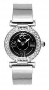 Yonger et Bresson DMC1482-01 - Orologio da polso da donna, cinturino in acciaio