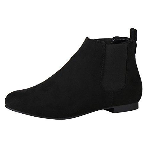 napoli-fashion Women's Chelsea Boots