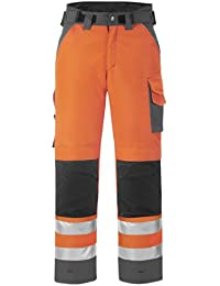 Snickers High-Vis Winter Hose Klasse 2, 1 Stück, 256, orange / stahlgrau, 36395558256
