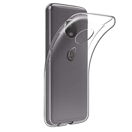 TBOC® Transparent Gel TPU Hülle für Motorola Moto E5 - Moto E (5th GEN.) (5.7 Zoll) Ultradünn Flexibel Silikonhülle