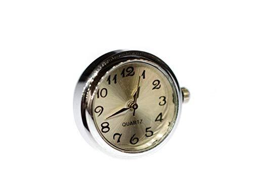 Uhr Funktioniert Brosche Miniblings Pin Anstecker Snap Button Uhrzeit Armbanduhr