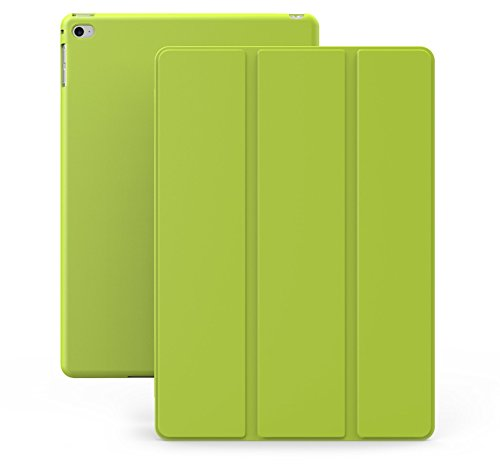 KHOMO Cover iPad Mini 4 Custodia Verde Doppia Smart Cover piú Back Cover Dual Case Ultra Sottile e Leggera con Supporto per Il Nuovo Apple iPad Mini 4