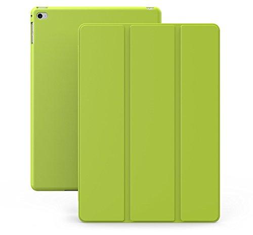 KHOMO - Custodia Verde Doppia Ultra Sottile e Leggera con Supporto per Il Nuovo Apple iPad Air 2