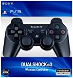 #1: SONY PLAYSTATION 3 DUALSHOCK 3 WIRELESS CONTROLLER-(BLACK)