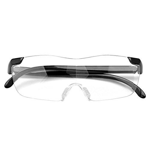 Cozyswan Lesebrille Big Vision Lesehilfe Mode Reading Glasses (Big Vision Brille)