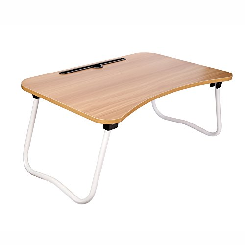 Cubix Laptop Desk Lap/Tray Table For Sofa Bed with Foldable Metal Legs...