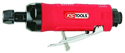 "KS Tools 515.3010 Amoladora recta neumática (1/4\"" NPT, 176 mm de longitud) 10.2 cm"