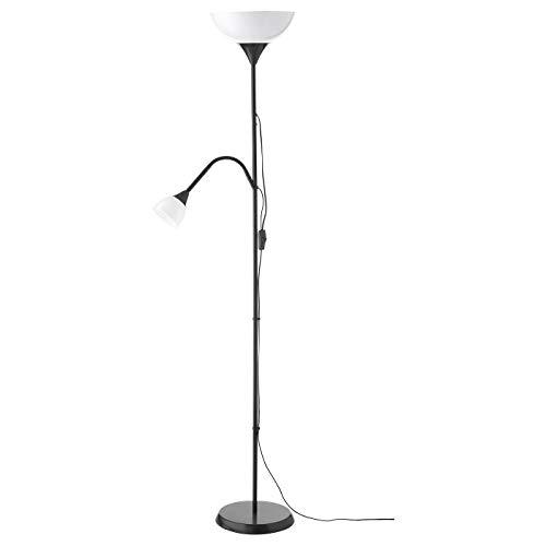 Ikea Reading Lamp Light with Adjustable Spotlight Arm and 2 LED Bulbs