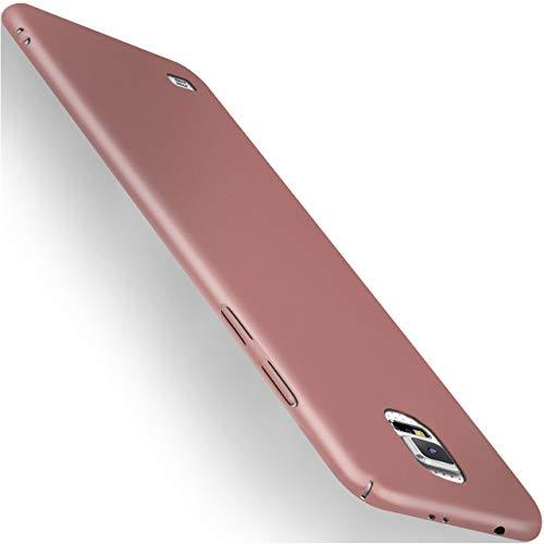 moex Samsung Galaxy S5 | Hülle Rose-Gold Alpha Back-Cover TPU Schutzhülle Dünn Handyhülle für Samsung Galaxy S5 / S5 Neo Case Ultra-Slim Thin Skin Handy Schutz Rückseite