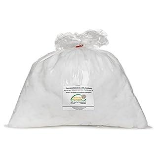 Traumnacht Faserfüllung / Kissenfüllung, 1kg, weiß