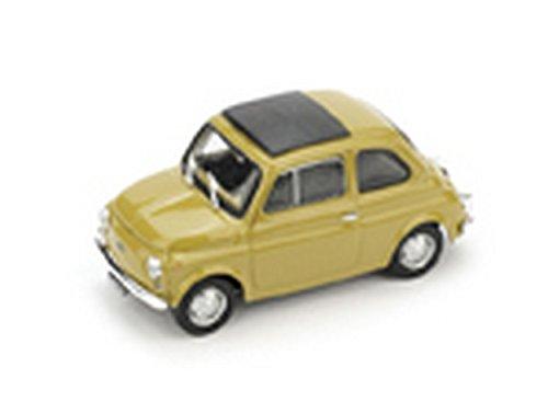 Brumm BM0475-06 Fiat 500 R 1972-75 Cerrada Amarillo Mostaza 1:43 Modelo