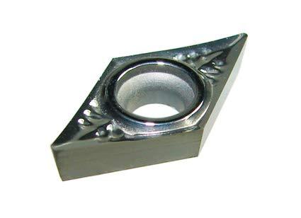 10 Stück HM Wendeschneidplatten für Alu, Kunsstoff oder NE-Metalle (CCGT, DCGT, SCGT, RCGT, VCGT, VBGT) (DCGT070204-ALU K10)