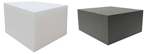 Bandscheibenwürfel RG25/44 Schwarz / RG40/60 Weiß Auswahl: Schaumstoffwürfel Baustein für Kinder (Stufenlagerung (Stufenlagerungswürfel (Stufenbett (Reha (Orthopädischer (Positurkissen (Lagerungskissen (Stufenlagerung