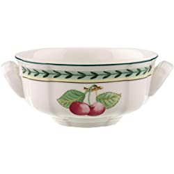 Villeroy & Boch French Garden Fleurence 1022812510 Tazón para Sopa, Porcelana, Verde