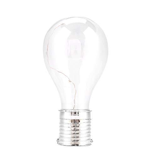 Riuty 4er-Pack Solarbetriebene Glühbirne, Hängeleuchte für den Außenbereich Glühbirne für Terrassenleuchten in gewerblicher Qualität Schaffen Sie EIN Bistro-Ambiente auf Ihrer Veranda, Terrasse