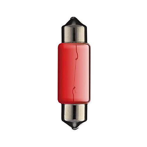 AMPOULE NAVETTE 6V 10W SV8.5 10 x 36 MM VOITURE DE COLLECTION PLAQUE DIMMATRICULATION PLAFOND INTERIEUR LAMPE VOYANT TABLEAU DE BORD PLAFOND INTERIEUR MOTO SCOOTER FEU ARRIERE STOP CLIGNOTANT