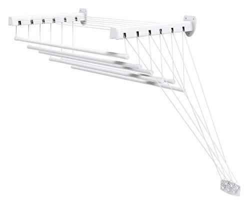 Gimi Lift 100 Tendedero de pared y techo de acero