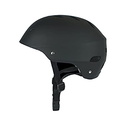 La Sports Childrens/Kids Black Helmet Age Guide 10-16 Ideal for Skateboard, Cycling, Bikes and Stunt Scooter Boys & Girls Head Size 58-61 cm from HI Mark