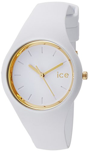 Ice-Watch - ICE glam White - Montre blanche pour femme avec bracelet en silicone - 000981 (Small)