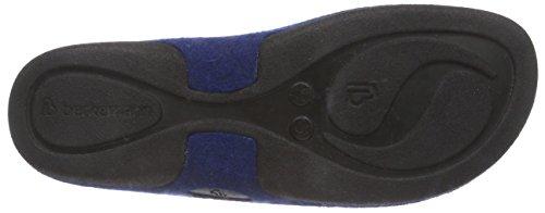 BerkemannLorena - Pantofole non imbottite donna Blu (Blau (blau 380))