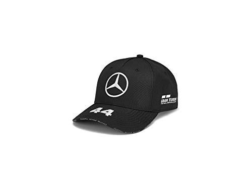 MB Mercedes-Benz Cap, Hamilton schwarz, 100% Polyester