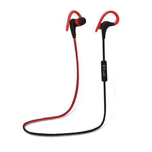 Docooler In-Ohr Wireless BT Headset Outdoor Sport Sweat-proof BT 4.1 + EDR Kopfhörer Nackenbügel Musik Kopfhörer Freisprecheinrichtung mit Mikrofon Kompatibel mit iPhone LG Samsung PC Outdoor-sport-kopfhörer