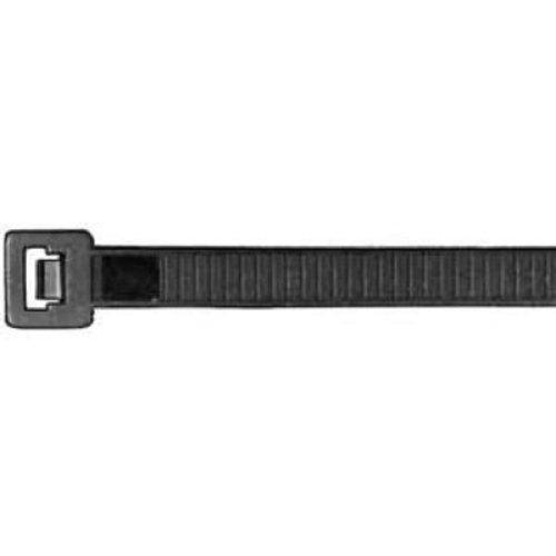 Preisvergleich Produktbild Aparoli 181873 Professionelle Kabelbinder 360 x 7.5 mm, 100 Stück (RAL9011) wetterfest, schwarz