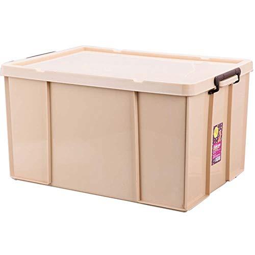 Trockenaufbewahrungsbox Europäischen Stil Kunststoff Extra Dicke Aufbewahrungsboxen Mit Deckel Für Zuhause Schrank Schlafzimmer Kind Auto Laden Stapelbare Aufbewahrungsboxen-A-S