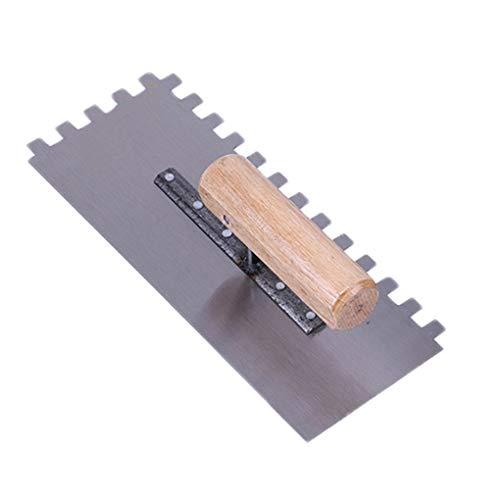 Pandiki Cemento Margen Llana metálica lechada del azulejo con Herramienta de Mano Espátula Paleta de la construcción albañil