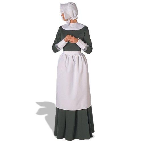 62 Pilgrim Lady Accessory Kit - Erwachsene - Wei- - One Size (Womens Pilgrim Kostüme)