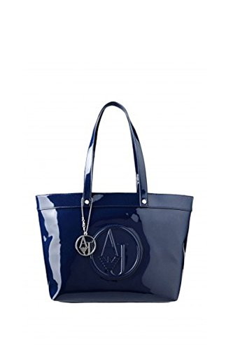 BORSA ARMANI JEANS SHOPPING BAG IN VERNICE 922505