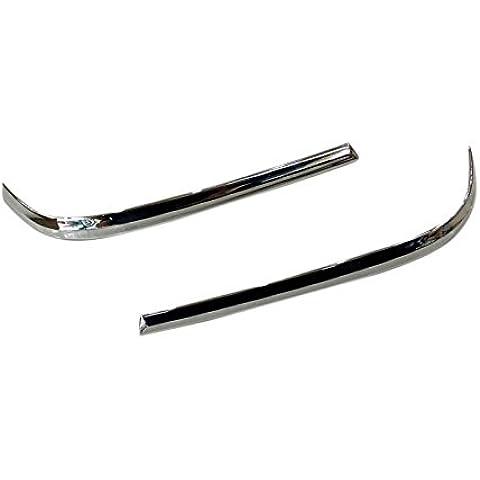 ABS cromato Specchietto Retrovisore Schermo Cover Trim strisce 2pezzi per Toyota Prius XW502016