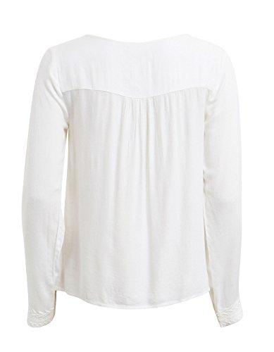 Vila Damen Bluse Weiß