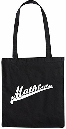 Mister Merchandise Tote Bag Mathlete Mathe Nerd Math Borsa Bagaglio , Colore: Nero Nero