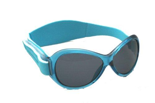 Banz Baby Retro Sonnenbrillen für Kinder von 0 bis 2 Jahren (Aqua).