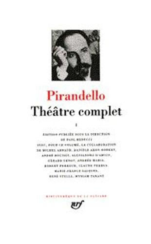 THEATRE COMPLET. Tome 2 par Luigi Pirandello