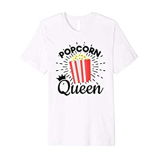 Popcorn Shirts For Girls Gifts - Popcorn Queen