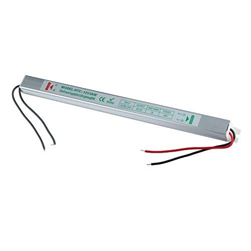 Liqoo LED Trasformatore Alimentatore per Striscia Strisce LED DC 12V 36W 3A Driver Power Supply AC100-264V