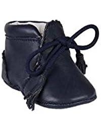 Chaussures en cuir avec lacets décoratifs - bébé - blanc VYHaC